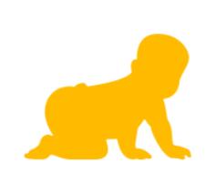 bébé jaune
