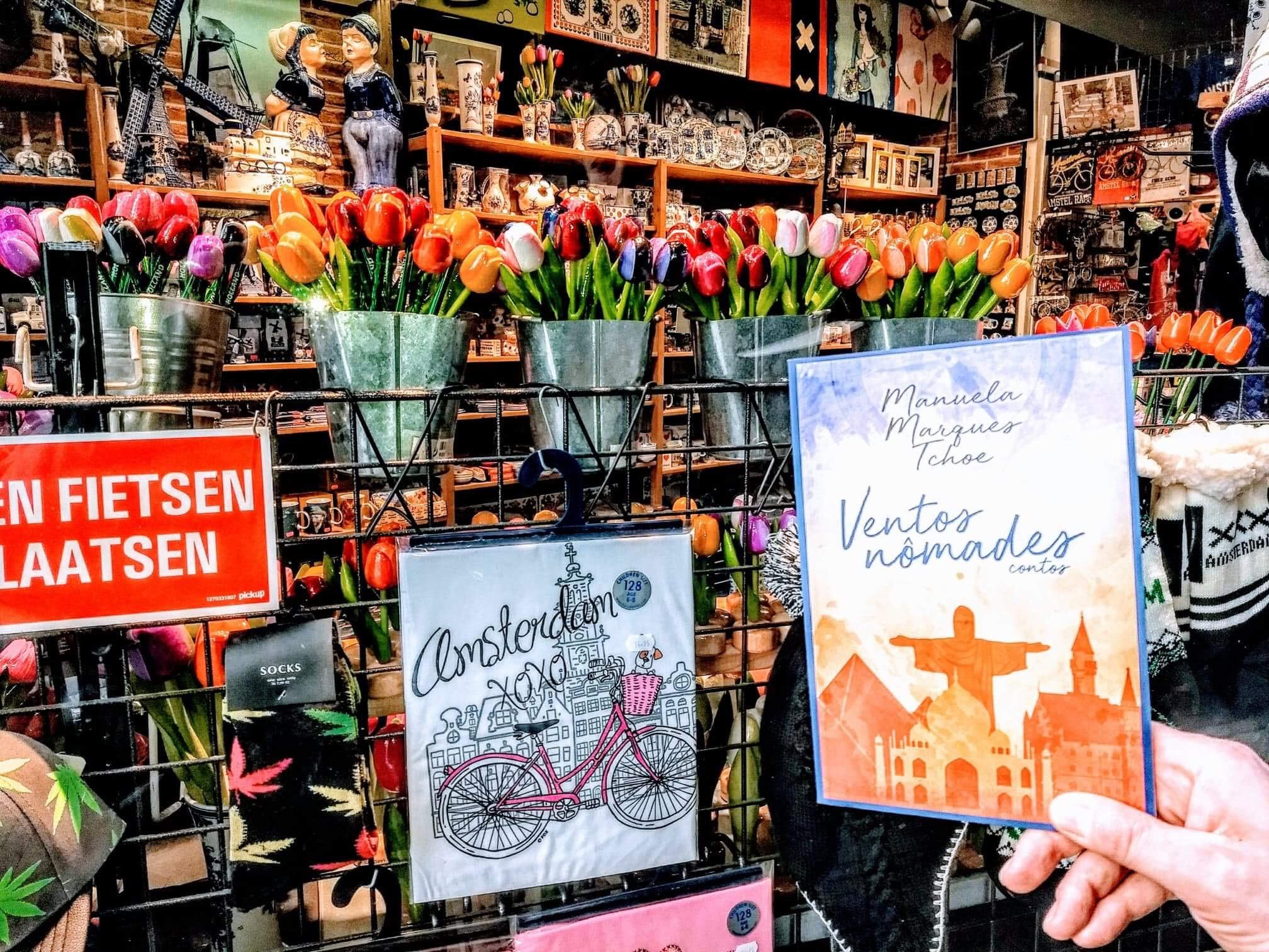 Uma das cidades mais belas do mundo é Amsterdam. Ventos Nômades tinha que passar por lá. Foto by: Ana Fonseca.