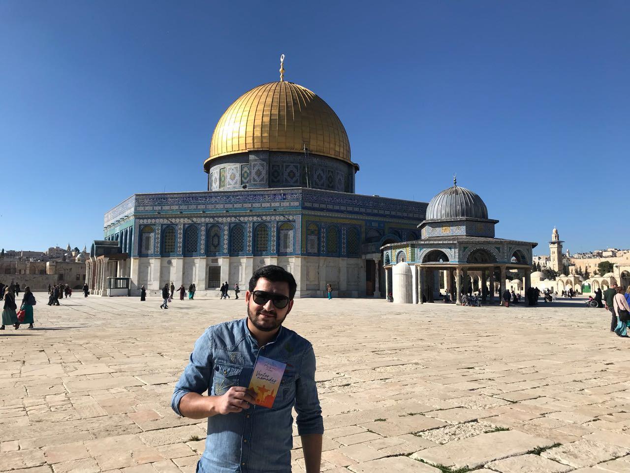 É verdade, Ventos Nômades chegou em Jerusalém. Foto by: Hrach Tamrazyan.