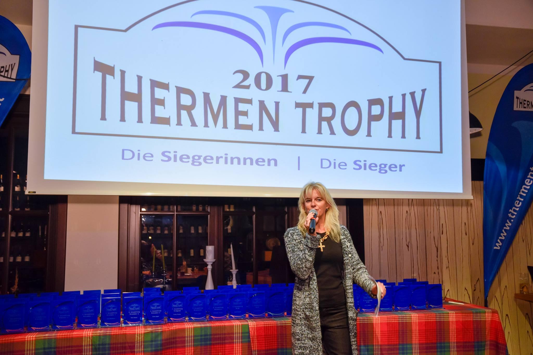 Thermen-Trophy-Siegerehrung 2017