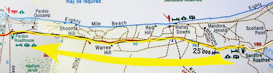 Tag 316: Sandfire Roadhouse - Pardoo Roadhouse