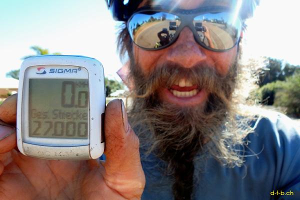 AU:Solatrike in Geraldton 27'000km