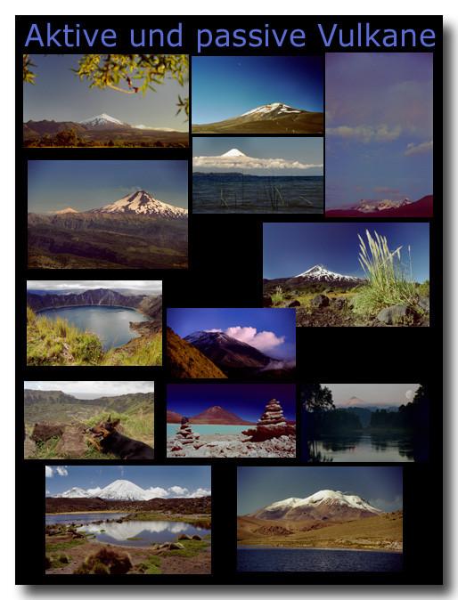 Aktive und passive Vulkane / Active and extinct volcanos