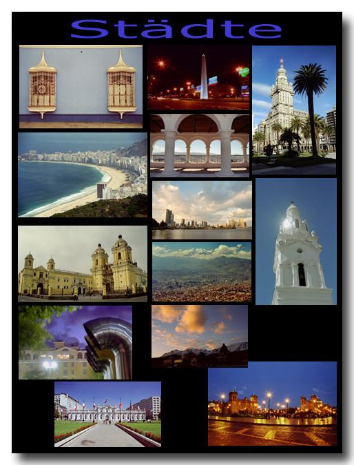 Städte / Towns