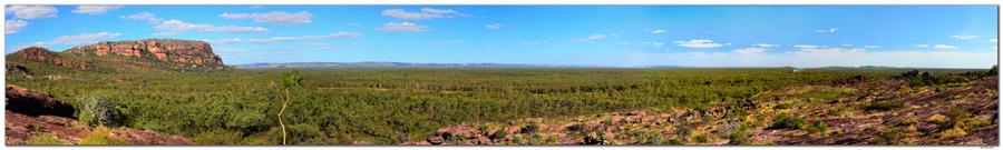 AU0041.Kakadu N.P. Nawurlandja Lookout.Panorama