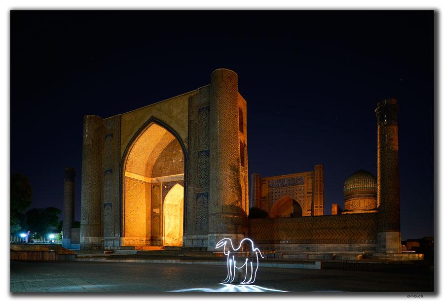 Samarkand.Bibi Khanyum Mosque