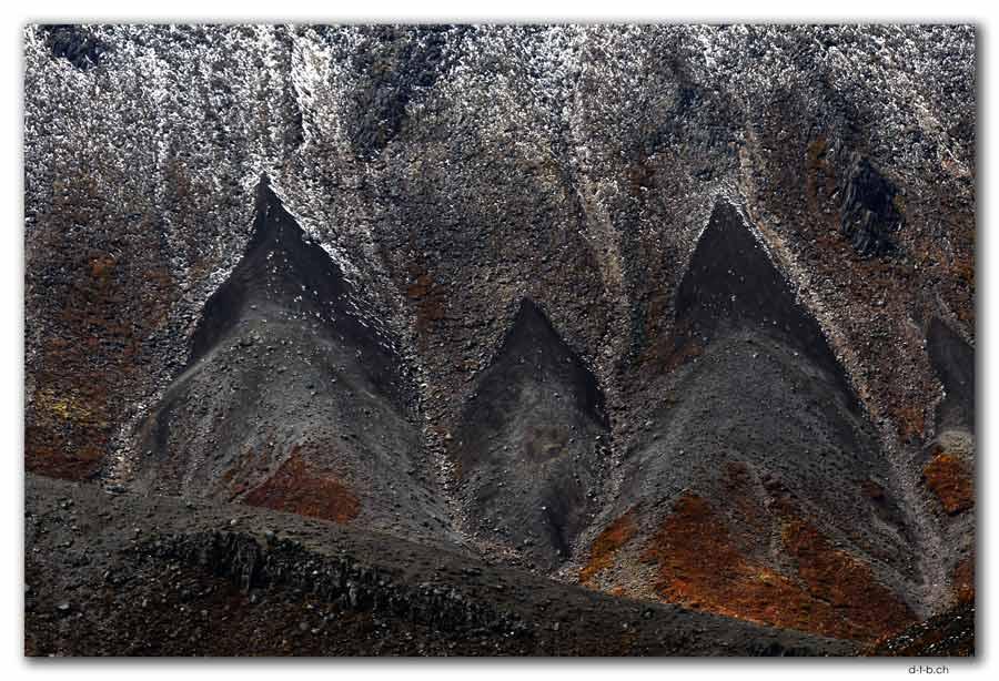 Felsformation im Tongariro N.P.