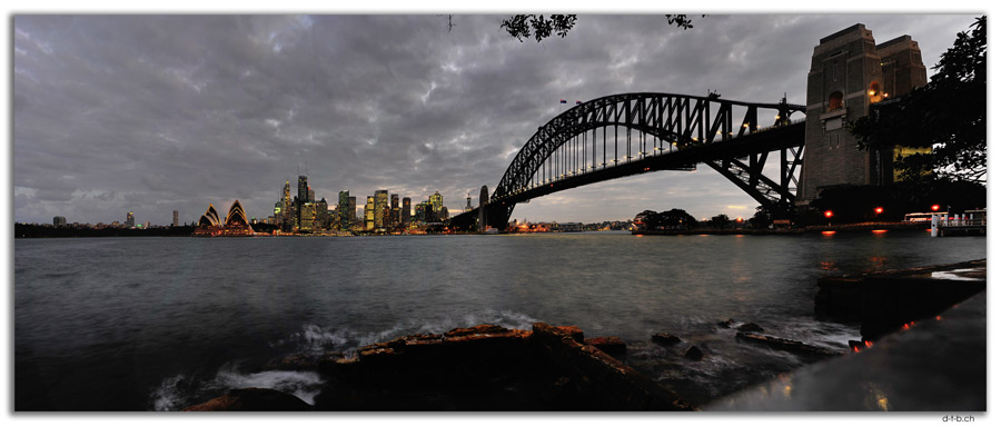 AU1676.Sydney.Opera House + Bridge