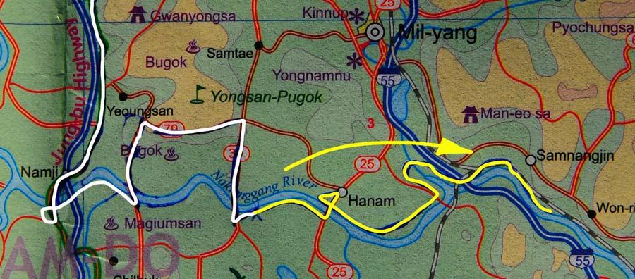 Tag 279: Bonpo-ri - Hamp'O (Karte)
