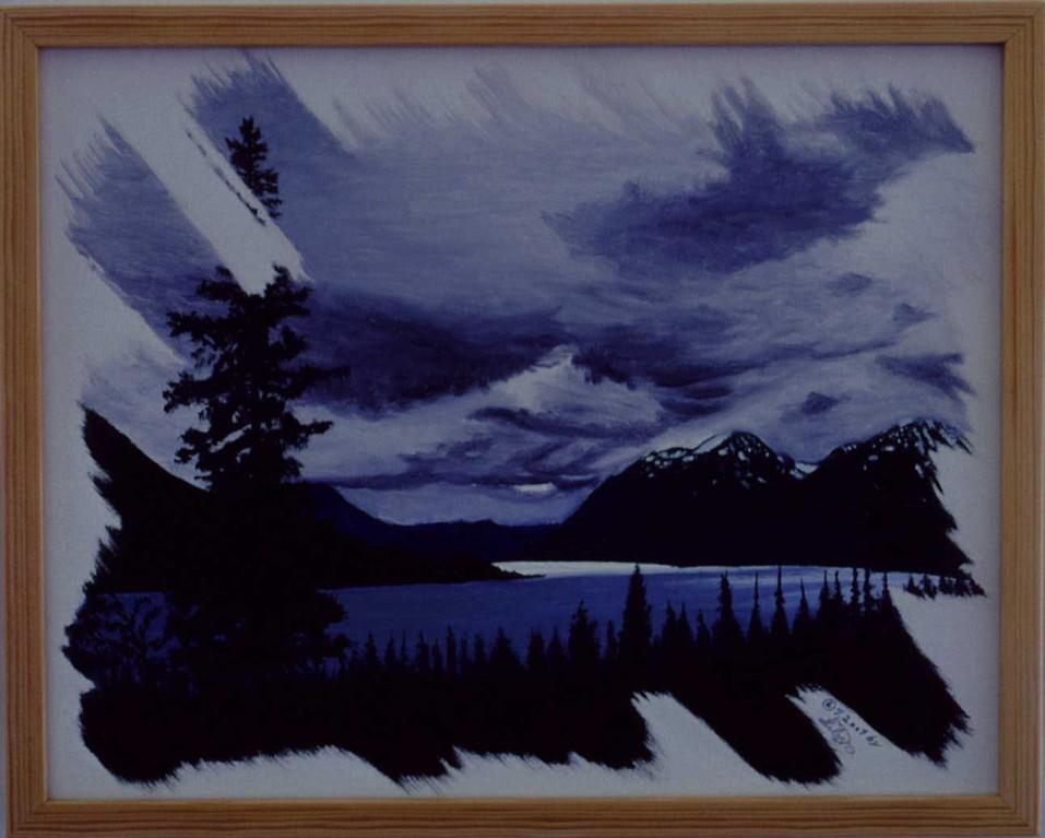 """Tutshi Lake"" (Tutshi See)"