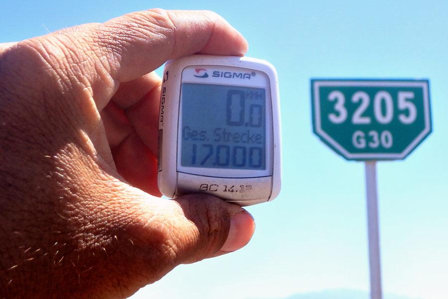 17'000 km