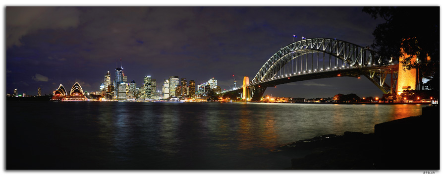 AU1679.Sydney.Opera House + Bridge