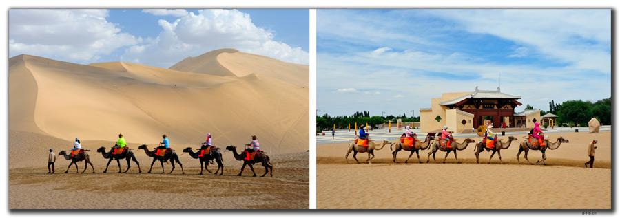 CN0092.Dunhuang.Camelride