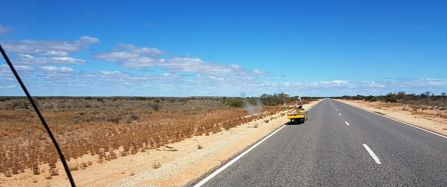 AU: Along the Westcoast in Australia (Photo: Anita)