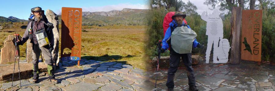 Australien.Tasmanien.Overland Track.Anfang und Ende