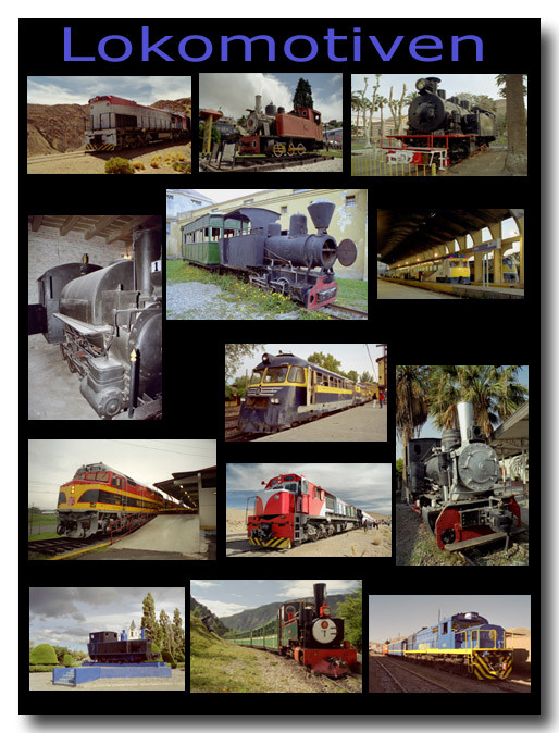 Lokomotiven / Locomotives