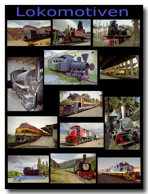 Lokomotiven / Locomotives