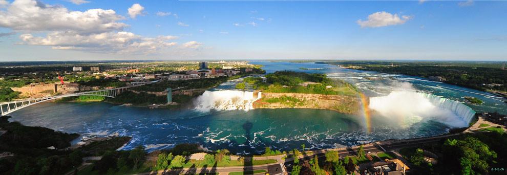 CA0365 Niagara Falls Panorama