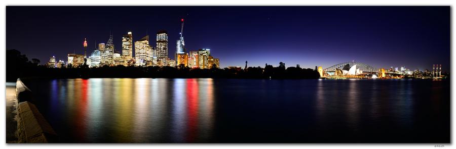 AU1638.Sydney.Opera House & Harbour Bridge