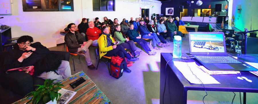 Multimedia-Show Zuschauer