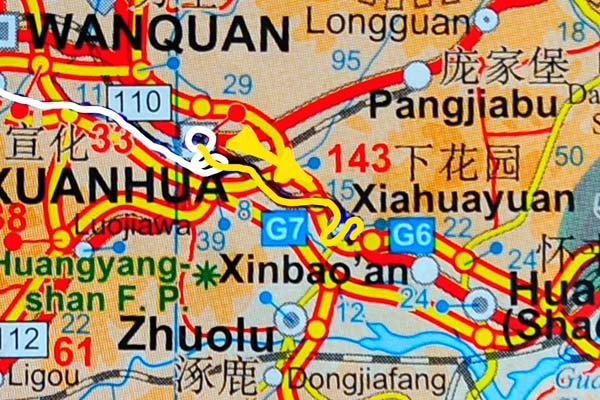 Tag 261:  Xuanhua 宣化区 -  Xiahuayuan 下花园区