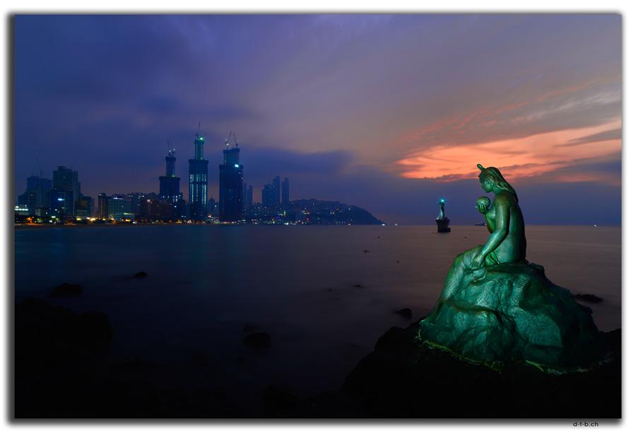 Busan.Dongbaek.Meerjungfrau