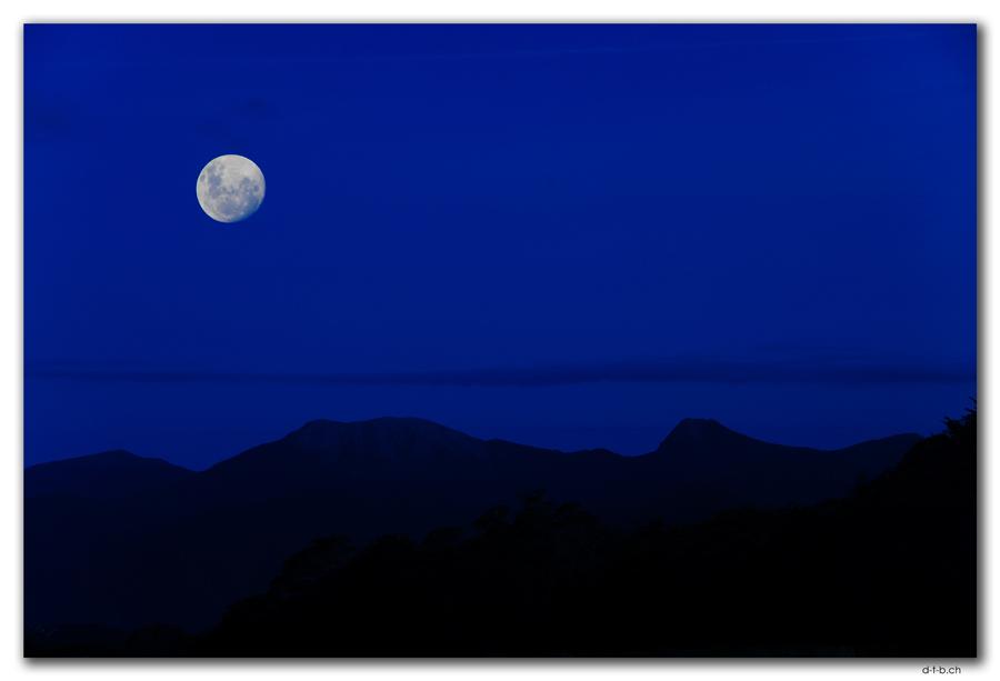 Mond bei Sylvester Hut