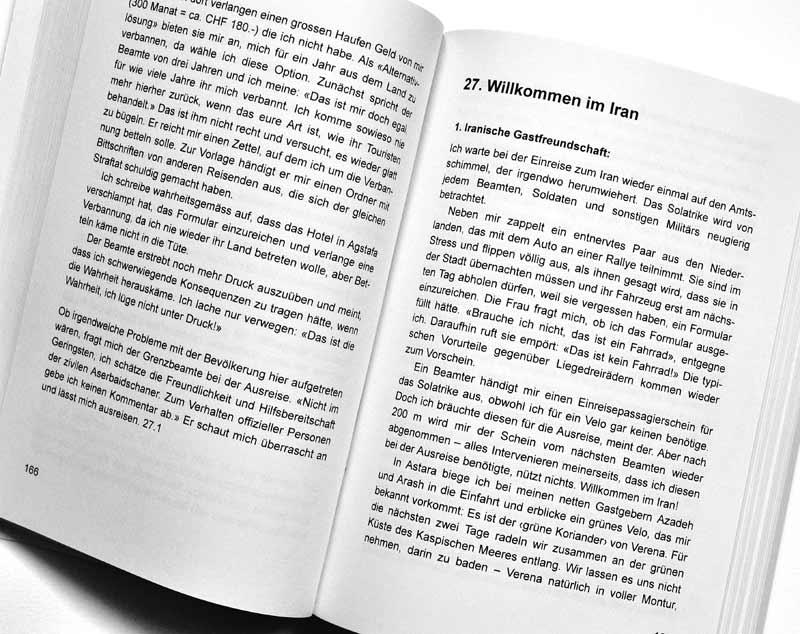 Solatrike Das Buch - Probeseite Text
