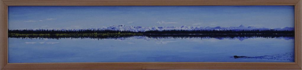"""Midway lake / Alaska"""