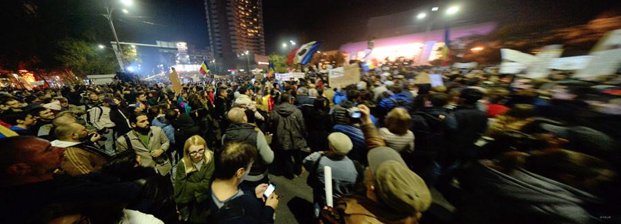 ROB045.Bukarest.Demonstration