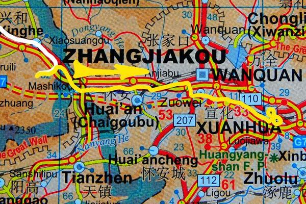 Tag 260:  Sancha Yushugou 三岔榆树沟 -  Xuanhua 宣化区