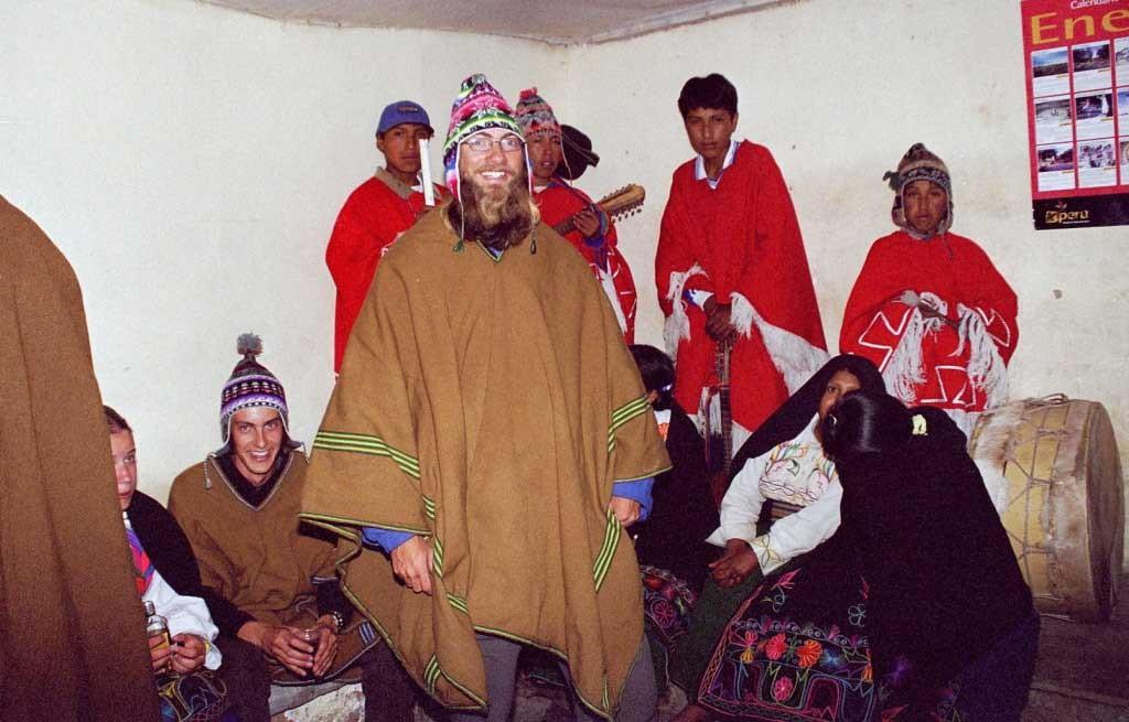 Peru, Isla Amantani