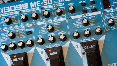 Gitarreneffektgerät von d-t-b
