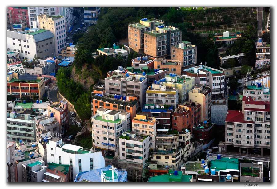 Busan vom Busan Tower aus