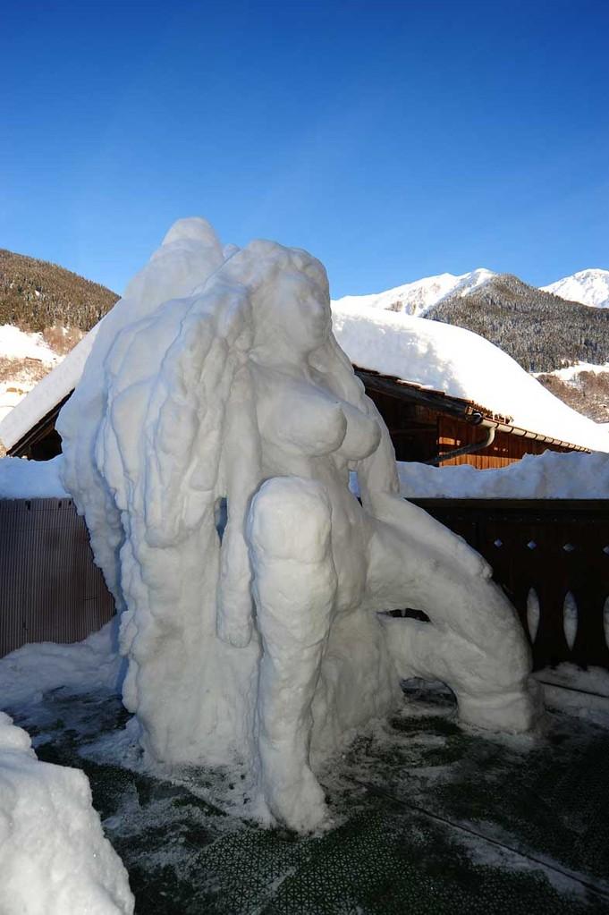 Engel aus Schnee / Snow angel