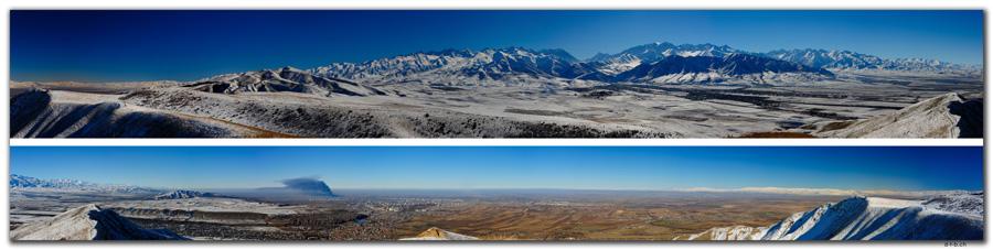 KG0047.Bishkek.Kyrgyz Ala-Too.Panorama