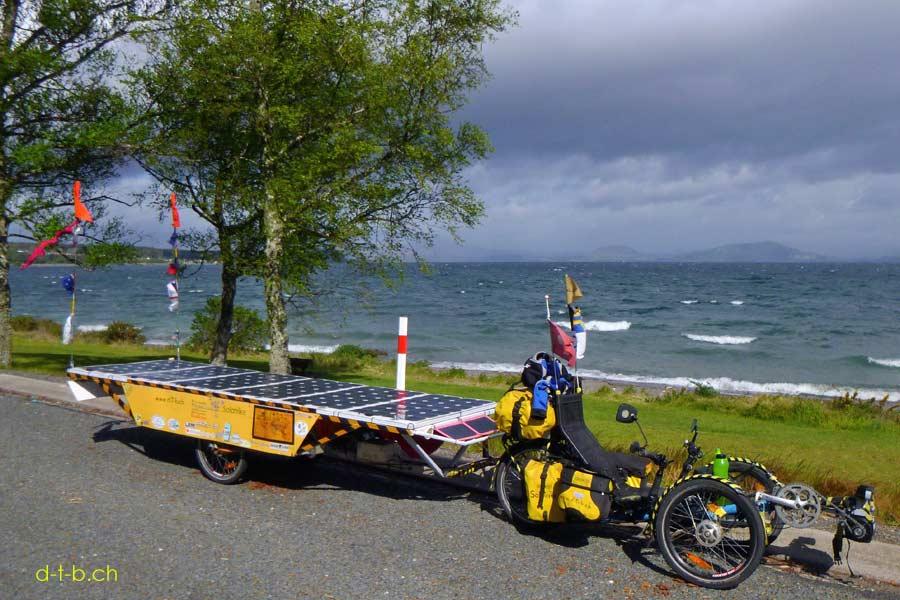Solatrike am Lake Taupo