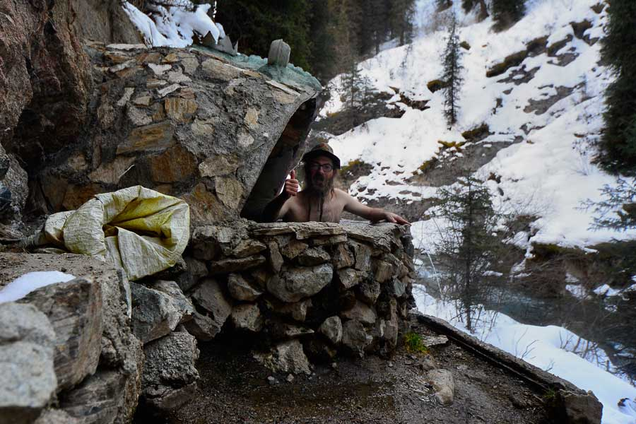 Altyn Arashan Hot spring