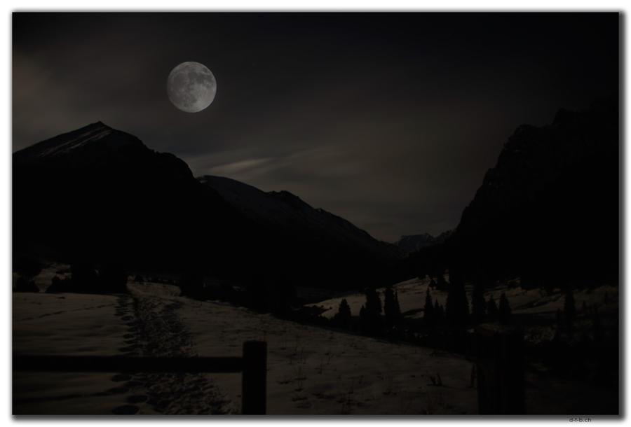 Altyn Arashan Mond