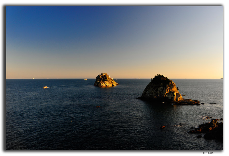 Busan.Oryukdo Islands