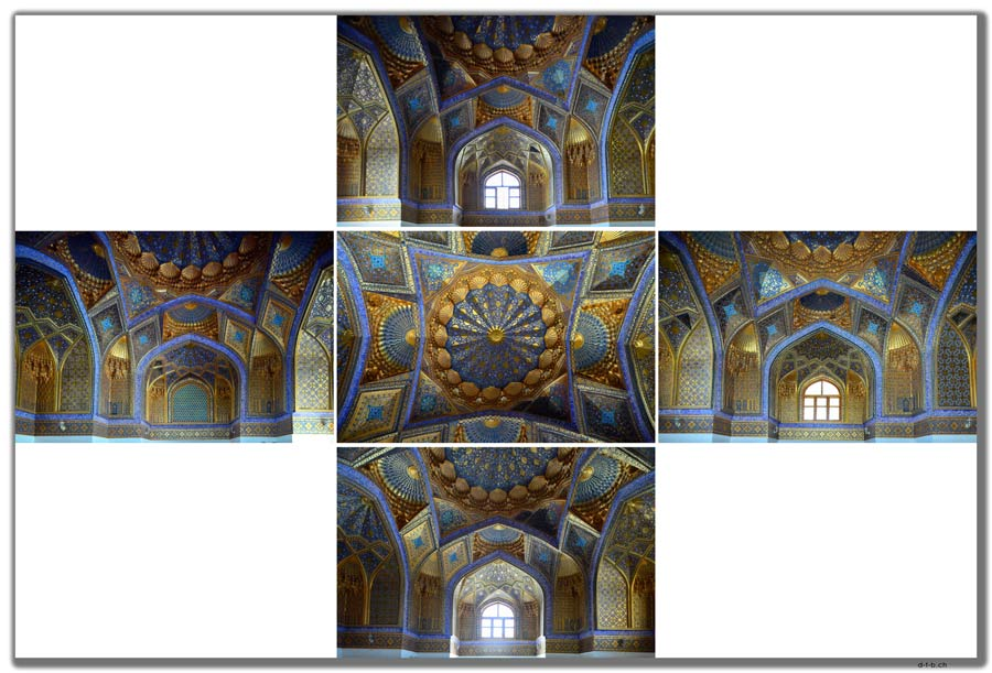 Samarkand.Ak-Saray Mausoleum