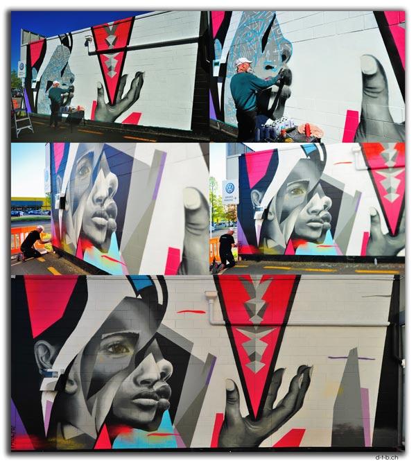 Streetart by Pauly B!