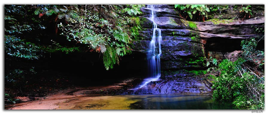 AU1726.Blue Mountains.Gordon Falls + Pool of Siloam