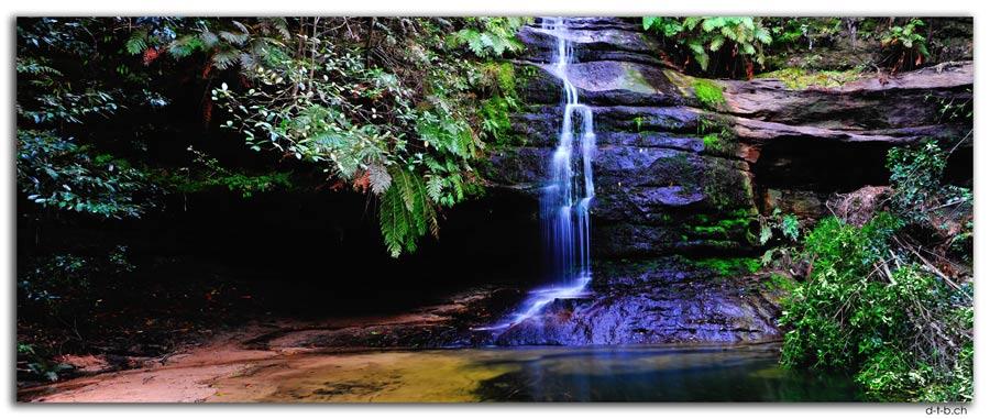 AU1726.Blue Mountains.Gordon Falls + Pool of Siloam