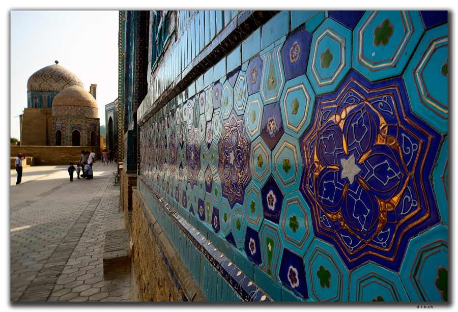 Samarkand.Shah-i Zinda Mausoleum Ensemble