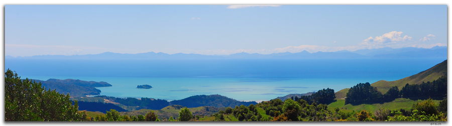 View from Takaka Hill