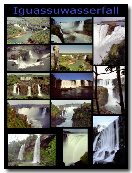 Iguassuwasserfälle / Waterfalls of Iguassu
