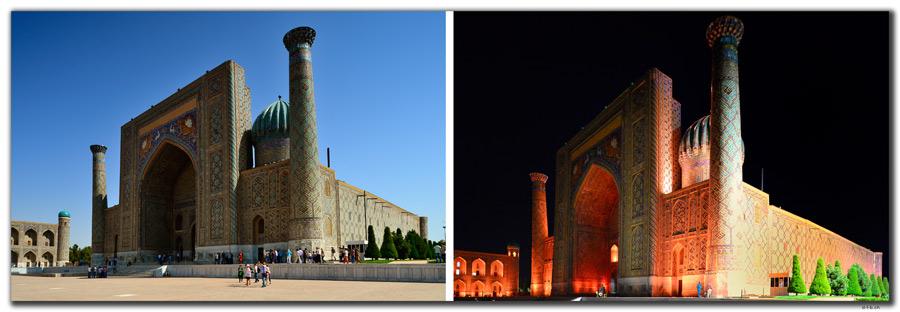 UZ0028.Samarkand.Registan.Sher Dor Medressa