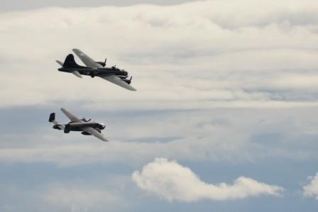 L090 B-17 Flying Fortress + B-25 Mitchell