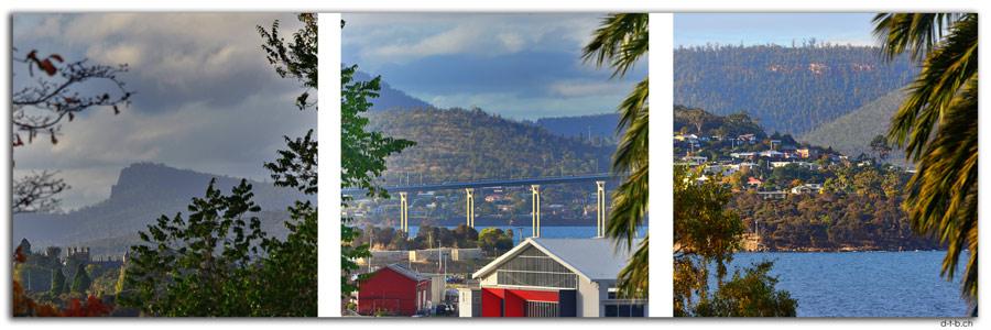 AU1280.Hobart.Triptichon Princes Park